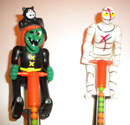witch mummy halloween candy topper