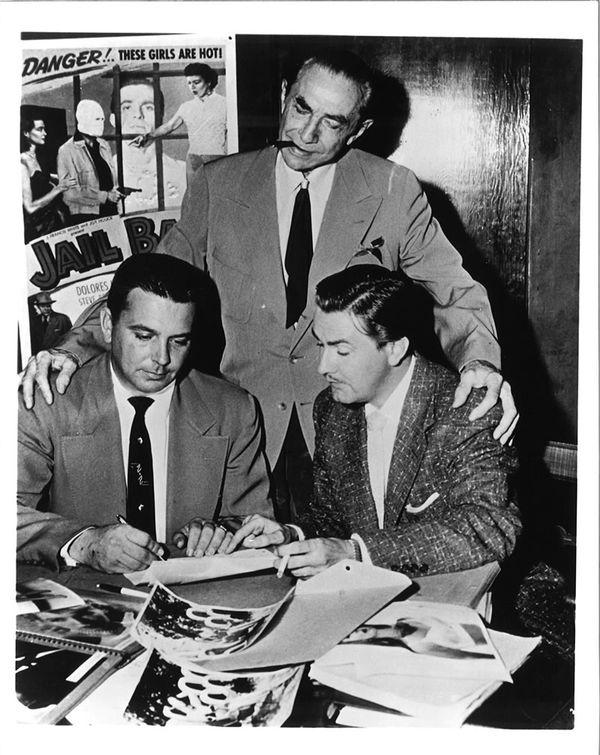 Bela Lugosi and Ed Wood Jr (From Zombos' Closet)