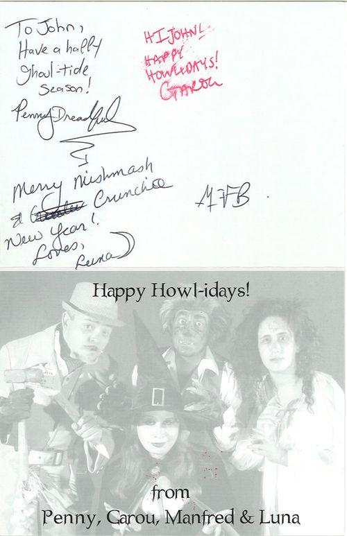 penny dreadful christmas card