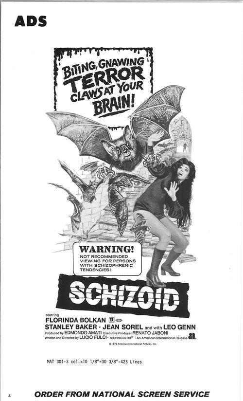 schizoid pressbook