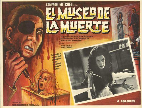 El Museo De La Muerte Mexican Lobby Card