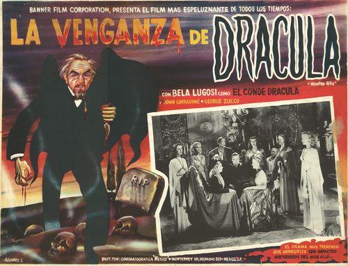 La Venganza De Dracula Mexican Lobby Card
