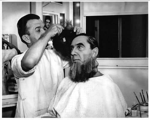 jack pierce with bela lugosi