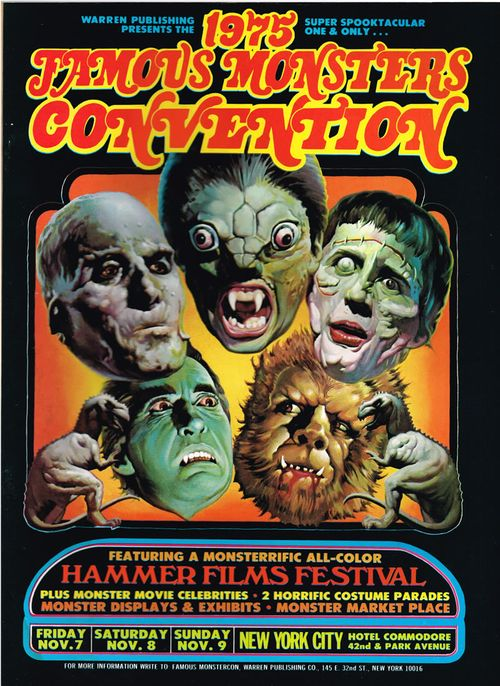 famous monsters convention 1975