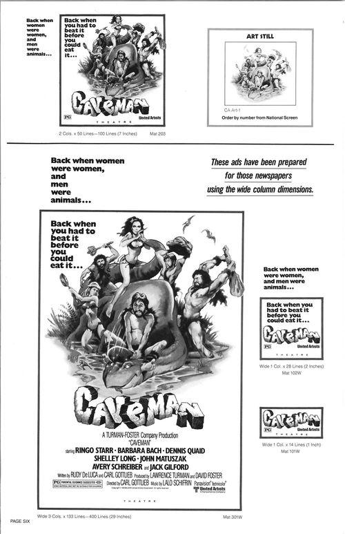 ringo starr caveman movie