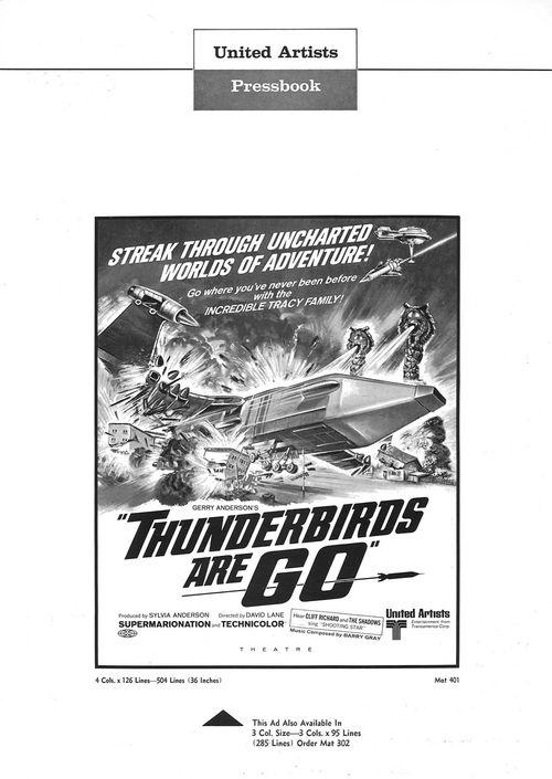 thunderbirds are go pressbook