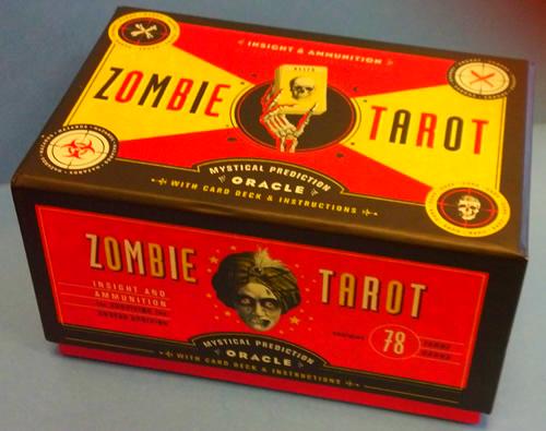 zombie tarot deck
