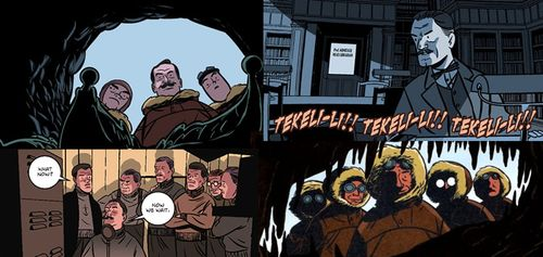 at the mountains of madness graphic novel