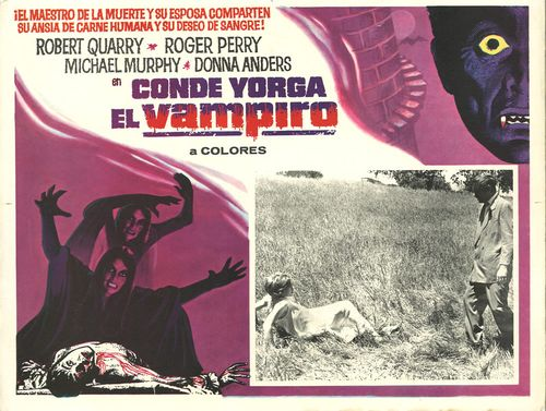 Conde Yorga El Vampiro Mexican Lobby Card