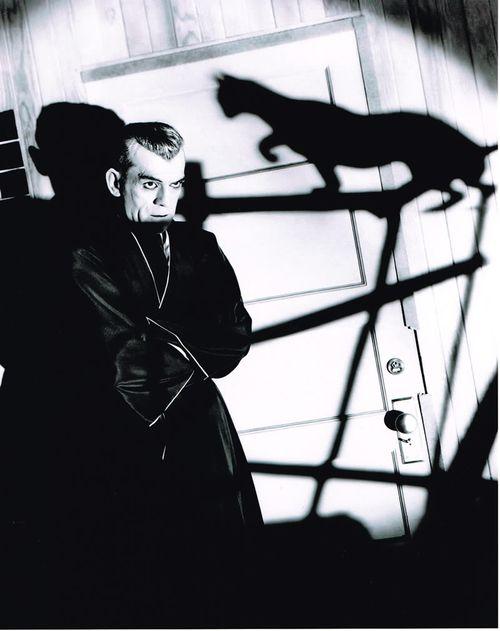 boris karloff in the black cat