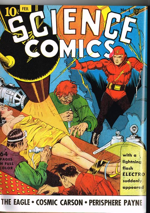 golden age science comics