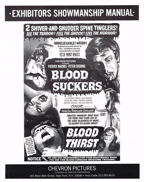 blood suckers blood thirst pressbook