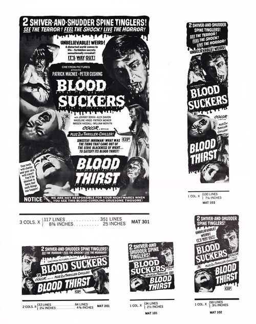 blood suckers blood thirst pressbook