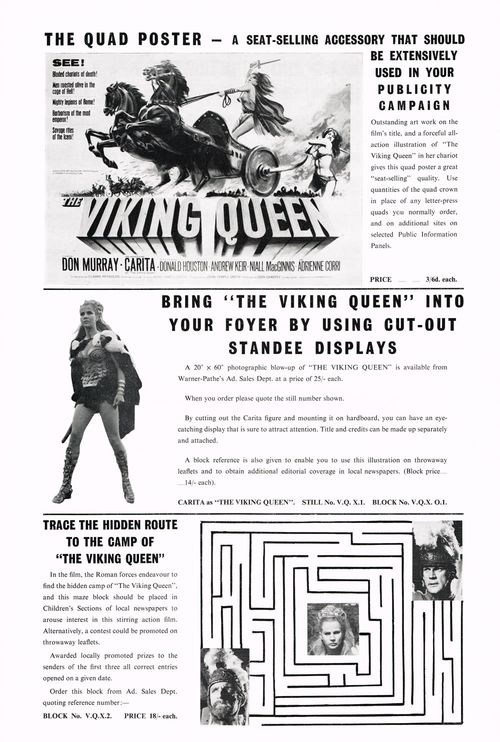 viking queen pressbook