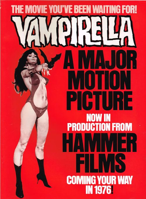 vampirella hammer movie