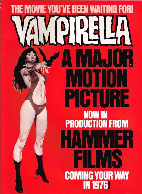 vampirella hammer movie