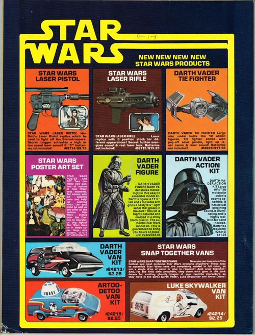 captain company star wars ads