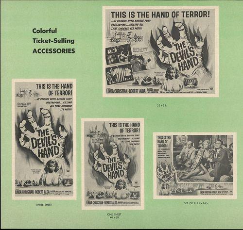 devil's hand bloodlust pressbook