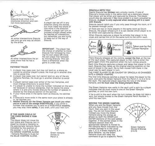 dracula game waddingtons