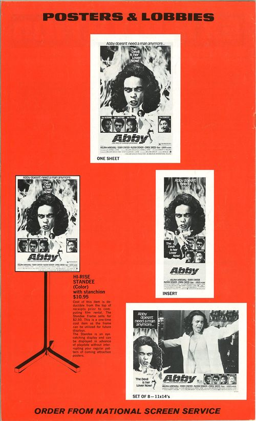 abby movie pressbook