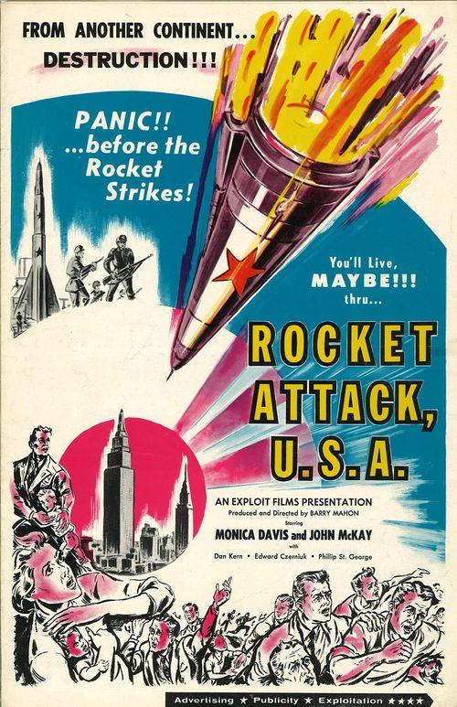 rocket attack u.s.a pressbook