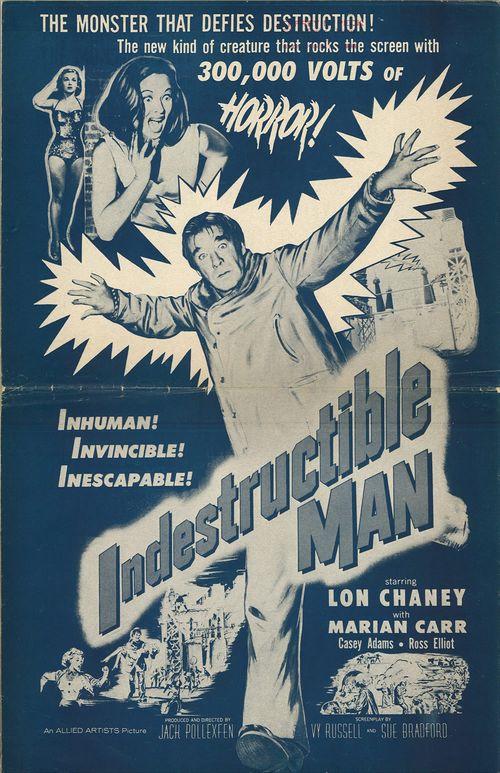 indestructible man pressbook