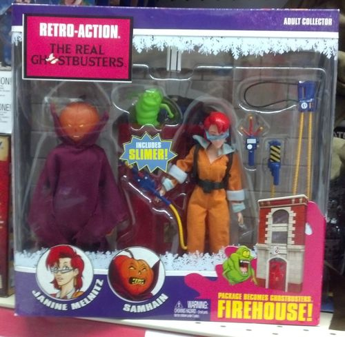 real ghostbusters retro-action toy