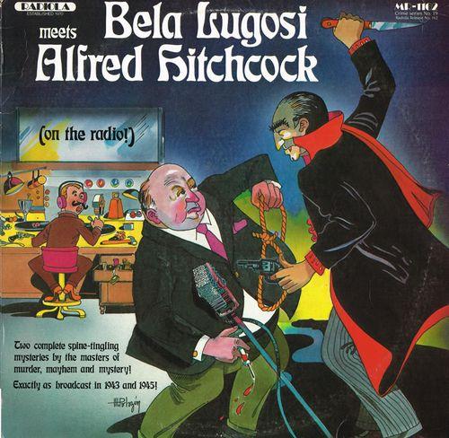 bela lugosi meets alfred hitchcock