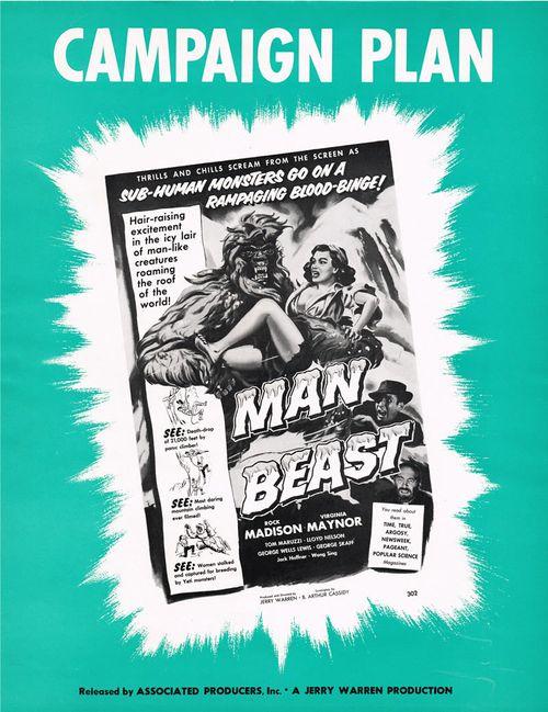man beast pressbook