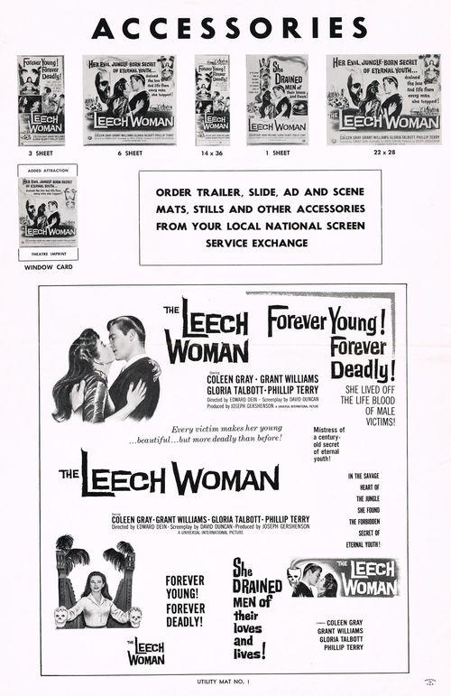 the leech woman pressbook