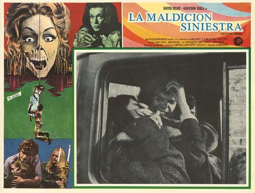 night of dark shadows mexican lobby card