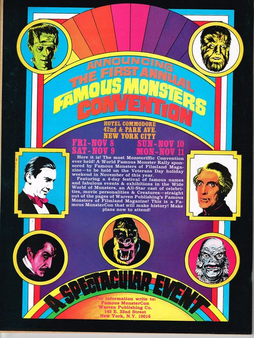 first famous monsters convention