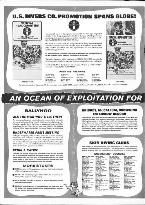 around the world under the sea pressbook
