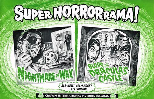 nightmare in wax pressbook