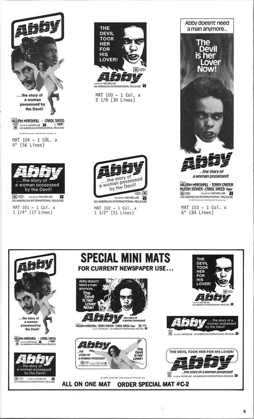 abby movie pressbook
