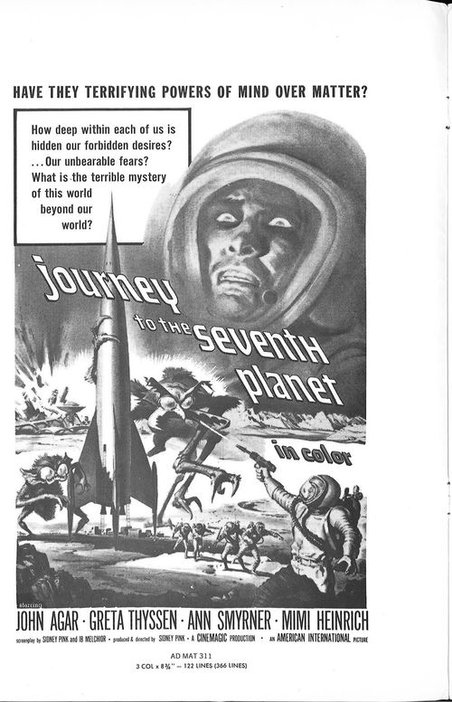 journey to the seventh planet pressbook