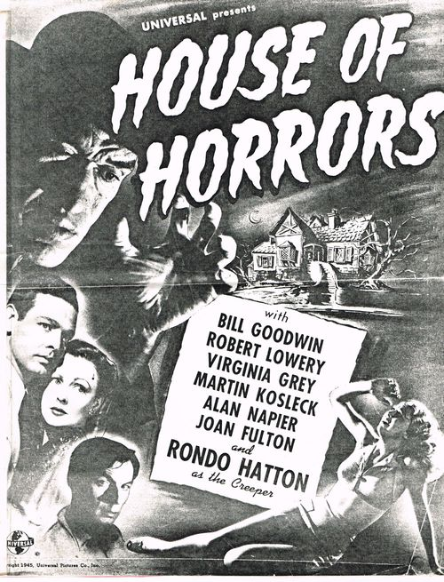house of horrors pressbook