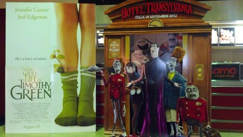 hotel transylvania cardboard standee