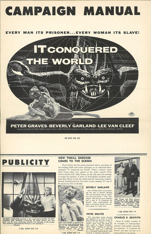 she creature and it conquered the world pressbook