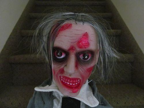 halloween animated zombie