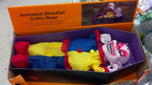 halloween Animated Ghoulish Coffin Riser