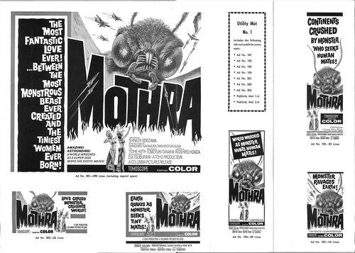 mothra pressbook
