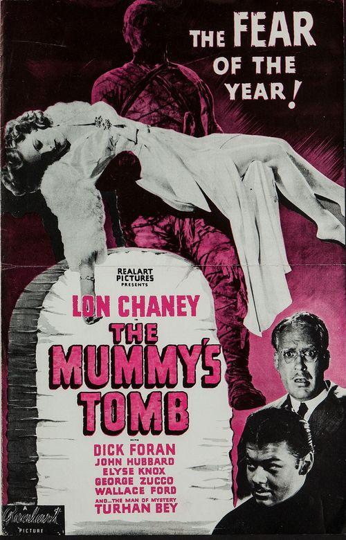 Mummy's tomb realart pressbook01