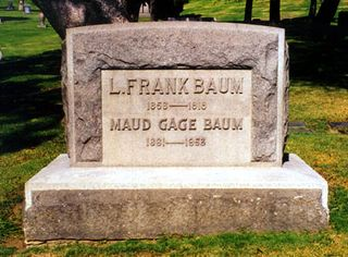 L Frank Baum grave