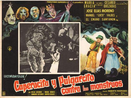 Caperucita Y Pulgarcito Contra Los Monstruos Mexican Lobby Card