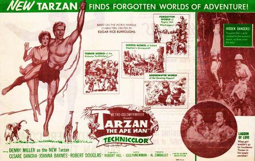 Tarzan ape man herald