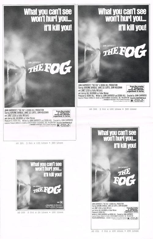 the fog pressbook