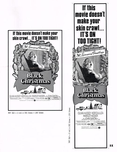 black christmas pressbook