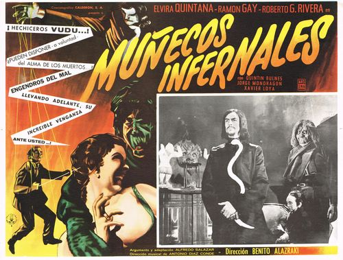 Munecos Infernales Mexican Lobby Card