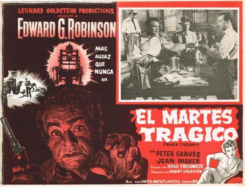 El Martes Tragico Mexican Lobby Card